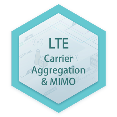LTE Carrier Aggregation and MIMO